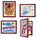 Includes four 8.5x11 LD Kids art cabinets