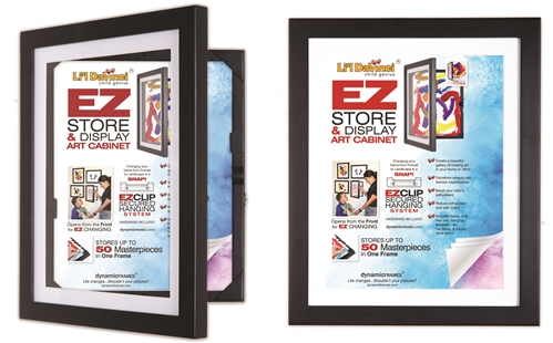 2 Li'l Davinci frames for 8.5x11 artwork, photos or prints. New & Improved hanging system!