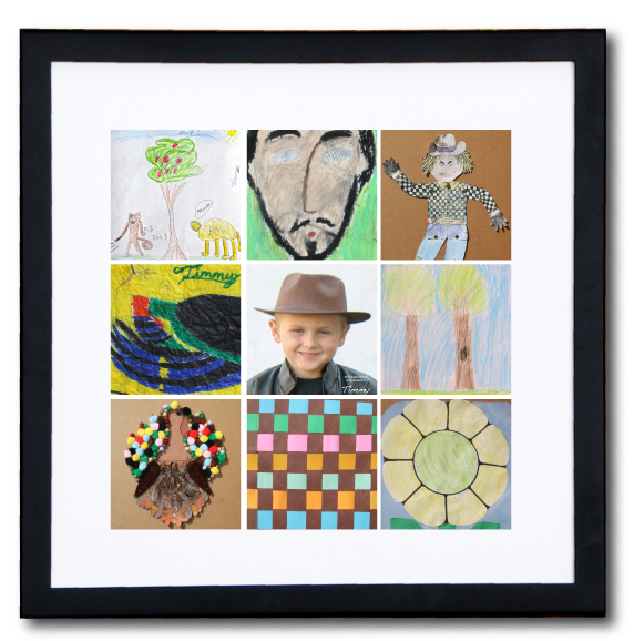 Scrap'n Frame dynamicSquare for 12x12 prints & scrapbook pages - DSNF-1212